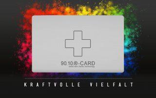 90.10.-CARD – Quantenenergie für Unterwegs