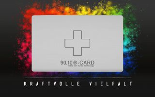 9010-CARD - Energiekarte - Kraftvolle Vielfalt mit Quantenenergie