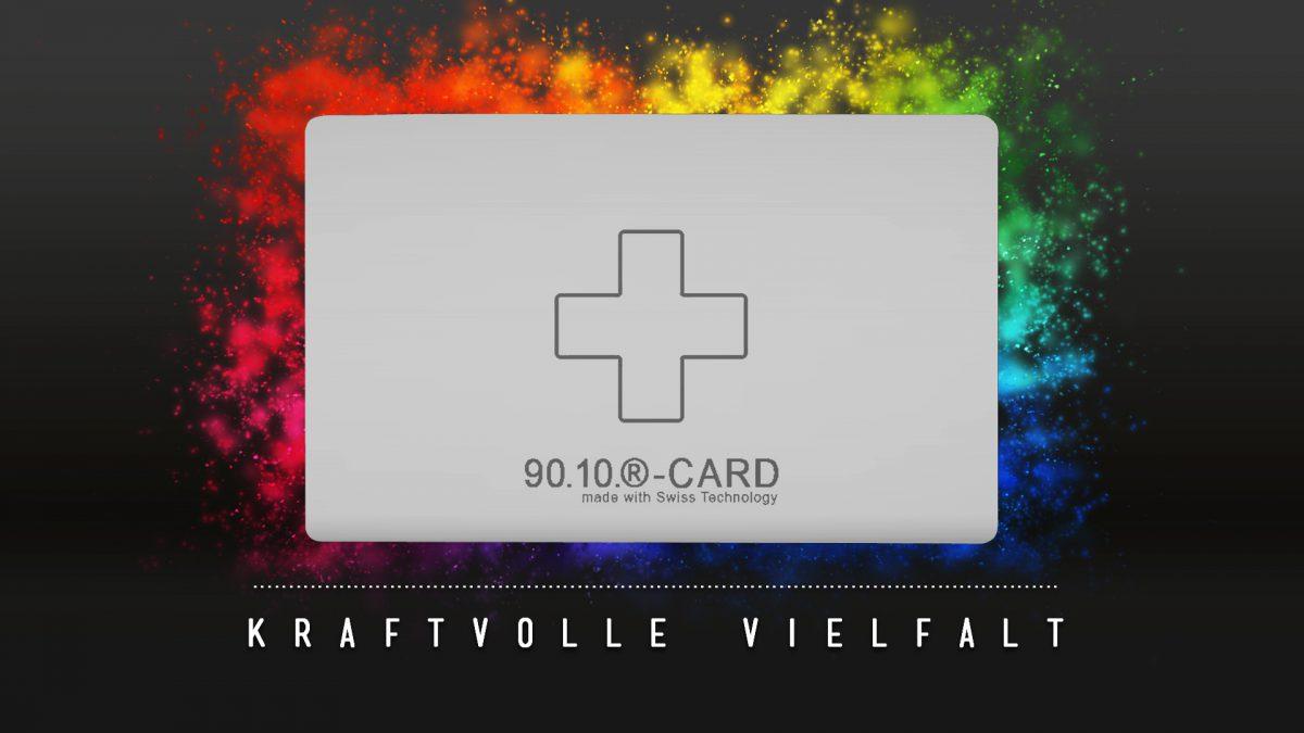 9010-CARD - Die Energiekarte mit der kraftvollen Vielfalt