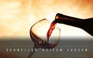 90.10.-CARD – Wein reift schneller durch Quantenenergie